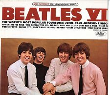 """Beatles """"Beatles VI"""" 1975 US Apple LP w/ """"All Rights"""" Labels On Both Sides!!"""