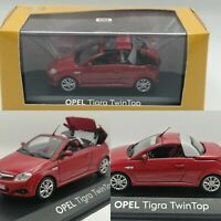 MINICHAMPS Opel Tigra Twin top  Red Model  car Diecast 1:43 dealer packaging