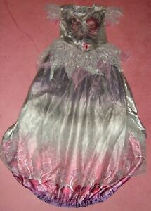 GIRLS AGE 11-12 YEARS HALLOWEEN DRESS WITH HOOP TU