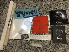 VIXX KPop Album Hello Stranger Error Eternity Milky Way Concert Memorabilia RARE