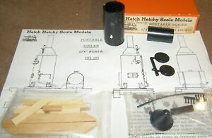 O Scale On3 On30 PORTABLE BOILER  KIT   Hetch Hetchy Scale Models HH103 OB