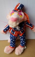 Pink Panther Color Of Cool Plush Doll 4th July Star Flag Tuxedo Kuddle Me Toys