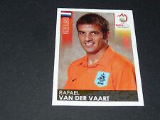 N°268 RAFAEL VAN DER VAART PAYS-BAS NEDERLAND PANINI FOOTBALL UEFA EURO 2008