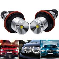 7000k Blanc LED Angel Eyes Parking Lumière pr BMW E39 E60 E61 E64 E66 E53 E83 87