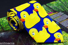How I Met Your Mother Barney's Ducky Tie HIMYM Duck Tie Necktie Mulberry Silk