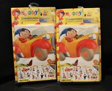Noddy & Friends Stickers Stickarounds Self Adhesive & Removable x 2 Packets
