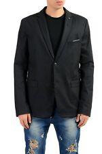 "Hugo Boss ""Benestretch6"" Men's Black Extra Slim Blazer Sport Coat US 44R IT 54R"