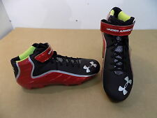 NEW Texas Tech Game Issued Under Armour Fierce Mid MC Football Cleats Shoes / 16