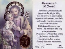 Memorare Saint Joseph Wallet Laminated Catholic Prayer Card Holy Cards RCC148E
