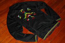 Men's LRG Lifted Research Group Rasta Colors Track Jacket (X-Large)