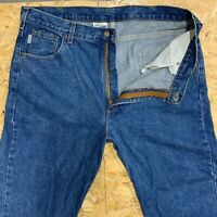 Carhartt Vintage Carpenter Blue Jeans Relaxed Fit Mens Size W38 L36