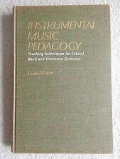Instrumental Music Pedagogy Band Orchestra Daniel Kohut HB