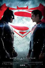 Batman Vs Superman Dawn of Justice - original DS movie poster  D/S 27x40 Final