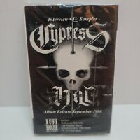 RARE Cypress Hill IV Interview Sampler Promotional CASSETTE Single Ruffhouse '98
