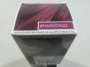 L'Oreal Paris Colorista MAROON 22 Hair Color Semi-Permanent  Hair
