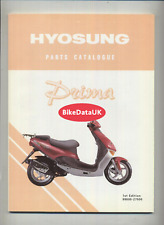 Hyosung SF50 Prima (1999-2004) Parts List Catalogue Manual Book SF 50 DC41
