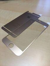 Panzerglas front&back Gold MATT iPhone 7 plus Displayschutz Glas Neuheit