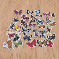 31Pcs Butterfly Stickers DIY Scrapbooking Journal Diary Decor Stationery Supply