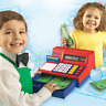 Learning Resources Pretend & Play Calculator Cash Register, Classic Counting 73