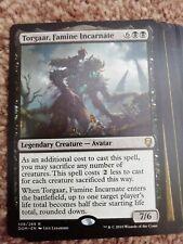 Custom Torgaar famine incarnate commander deck lots of value