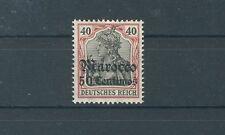Deutsche Post in Marokko 40 ungebraucht (B00587)