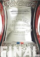 * 2011 FA CUP FINAL PROGRAMME - MAN CITY v STOKE CITY *