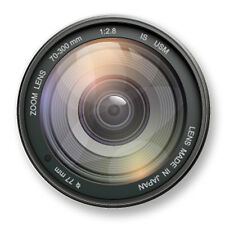 "Pin Button Badge Ø25mm 1"" Image Objectif Appareil Photo Photographie Zoom"