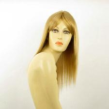 Perruque femme mi-longue blond doré LAURY 24B