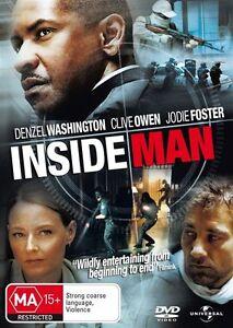 Inside Man DVD - SAME / NEXT DAY FREE FAST POSTAGE