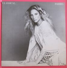 BARBRA STREISAND CLASSICAL BARBRA LP vinyl record album