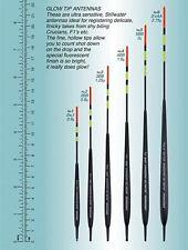 Drennan Brillano Suggerimento Antenna GALLEGGIANTE selezione uno di ogni dimensione