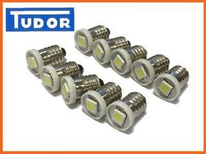 LED Dash and instrument  bulbs  X 10 E10 for MGB,MG MID,  FORD, MINI, TRIUMPH