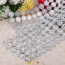 1 Yard Diamond Mesh Rhinestone Crystal Plastic Bling Ribbon Wedding Wrap Decor