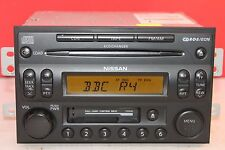 NISSAN NAVARA PATHFINDER 350Z MURANO X TRAIL 6 DISC CD TAPE RADIO PLAYER CODE