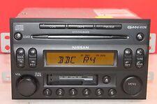 NISSAN NAVARA PATHFINDER 350Z MURANO X TRAIL 6 DISC CD TAPE RADIO PLAYER CODE
