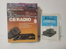 Cobra Model 20 Plus Cb Radio Vintage 1988 Great Shape in box! See Pictures Cb