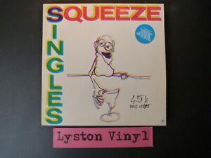 "Squeeze - Singles 45's And Under 12"" Vinyl LP"
