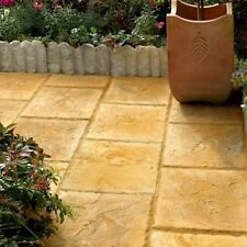 50 BRADSTONE PATIO PAVING FLAG 450x450x35mm AUTUMN COTSWOLD - 01057 DEL INCLUDED
