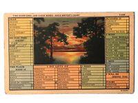Time Saver Card - Avoid Writer's Cramp - Postcard - August 5, 1936