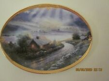 Thomas Kincaid oval plate