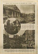 Obusier Artillerie Soldat Belgique Langemarck Deutsches Heer Fismes 1918 WWI
