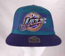NBA 47 Brand UTAH JAZZ Snapback Cap Hat VTG Teal and Purple