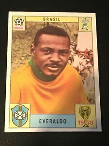 Unused Panini World Cup Mexico 70 (1970) Card - EVERALDO (Brazil)