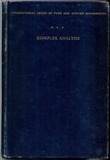 Complex Analysis, Lars V. Ahlfors, Hardcover McGraw-Hill, USA, 1953  1st Edition
