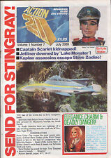 Gerry Anderson Action 21 #7 Thunderbirds Stingray Fireball XL5