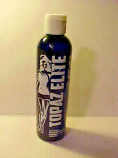 Topaz Elite After Shave by MD Barber, LLC - 12oz Plastic Splash Bottle, 95% Full