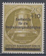 Germany Berlin 1956 ** Mi.155 Hilfe Help   Hochwasser Flood