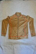 Women's Large Trek Long Sleeve Olive Jacket Shirt Cycling Made in Usa
