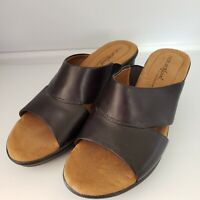 Natural Soul By Naturalizer Hamrock Strap Sandle With Small Heel Size 7M
