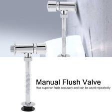 Manuelles Druckspüler Toilettenspülventil DN15/20MM Spülarmatur für Urinalbecken